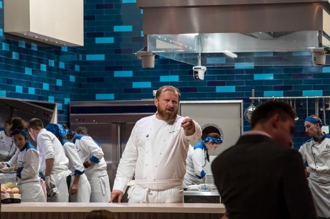 Константин Ивлев в шоу «Адская кухня»