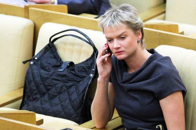 Светлана Хоркина в Госдуме