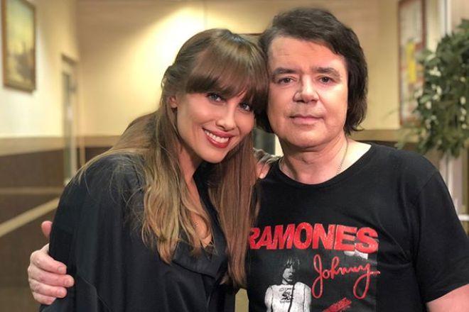 Евгений Осин и Юлия Беретта