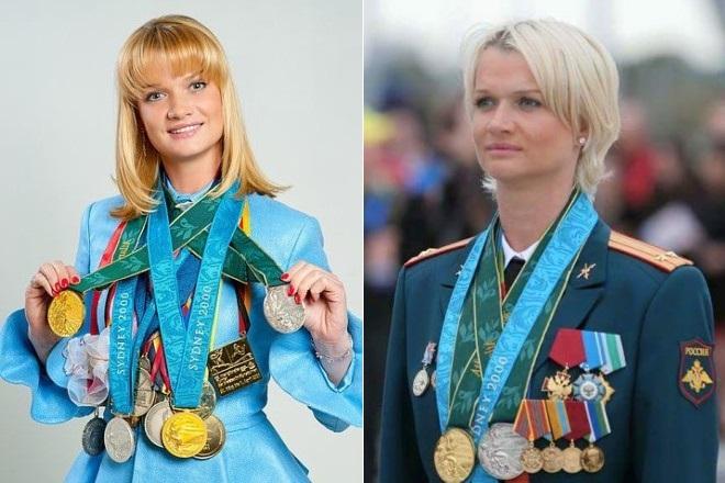 Светлана Хоркина и ее награды