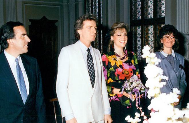 Свадьба Любови Казарновской и Роберта Росцика