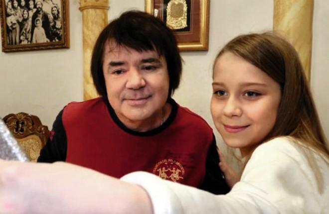 Евгений Осин с дочерью Настей