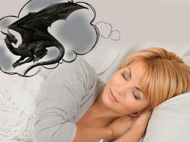 Но нам важно разобраться и приоткрыть тайну того, к чему снится дракон.
