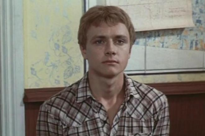 Владимир Шевельков в молодости