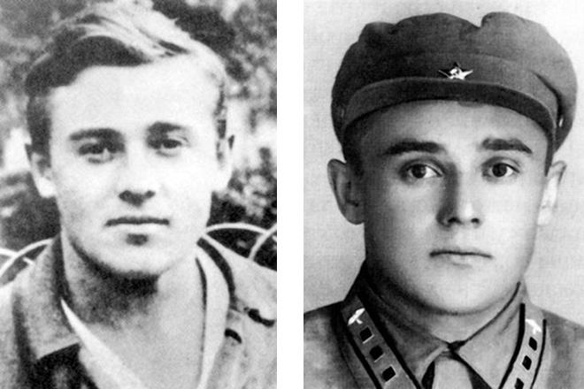 Сергей Королев в молодости