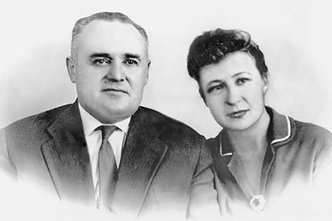 Сергей Королев и Нина Котенкова