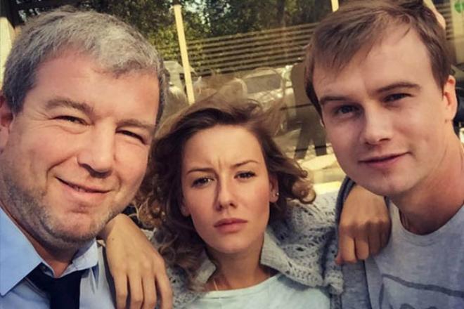 Ирина Старшенбаум, Алексей Бардуков и Александр Робак