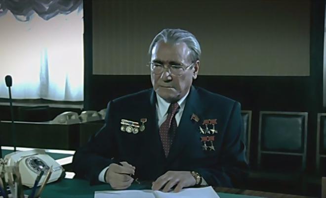 Сергей Шакуров в роли Леонида Брежнева