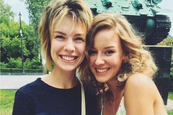 Анна и Ирина Старшенбаум - двоюродные сестры
