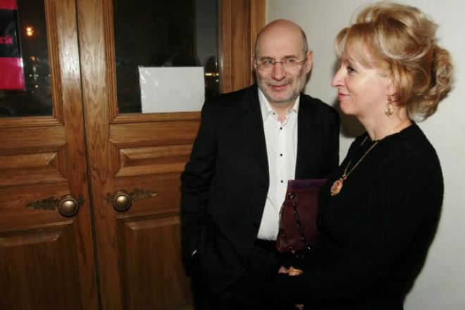 Борис Акунин с женой