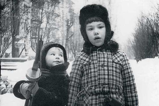 Николай Валуев в детстве