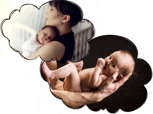 Грудной ребенок на руках значение сна