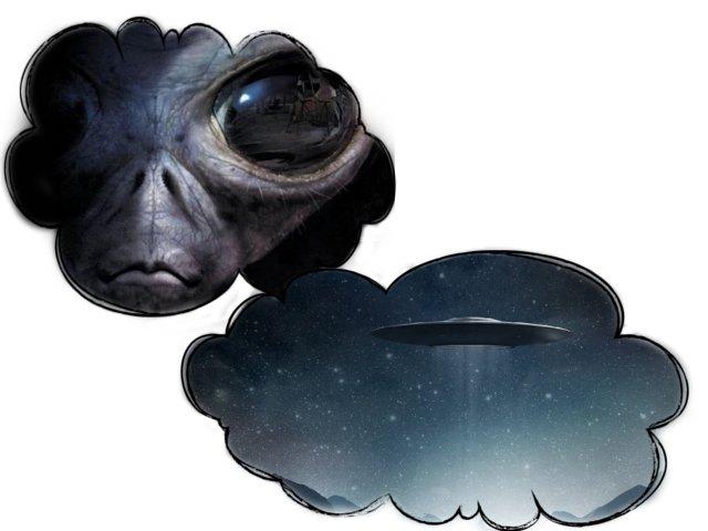 Видеть НЛО во сне  значение сонника