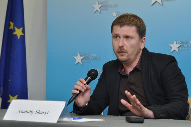 Пресконференция видеоблогера Анатолия Шария