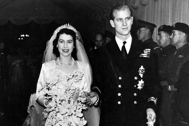 Свадьба Елизавета II и Филиппа Маунтбеттена