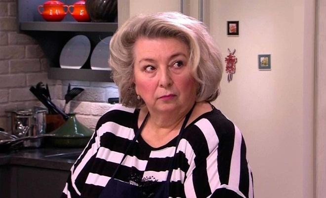 Татьяна Тарасова без шарфа
