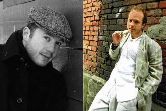 Евгений Стычкин в молодости
