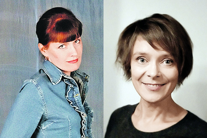 Вера Сергеева и Инна Мишукова