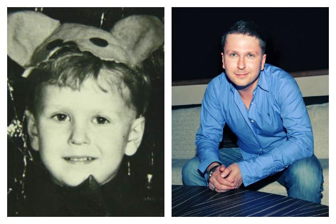 Анатолий Шарий в детстве и юности