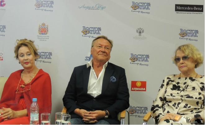 Лариса Удовиченко, Сергей Шакуров и Валентина Талызина