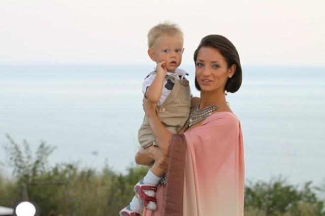 Татьяна Денисова с сыном