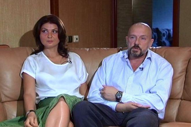 Алексей Нилов с женой