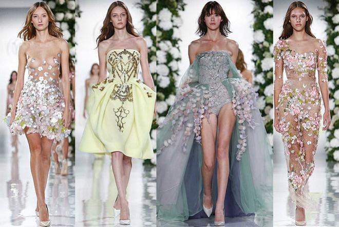 Неделя моды в Париже: коллекция Valentin Yudashkin весна-лето 2015