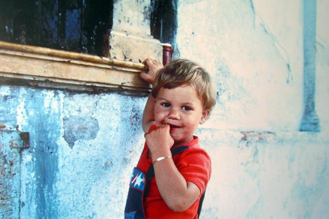 Роджер Федерер в детстве