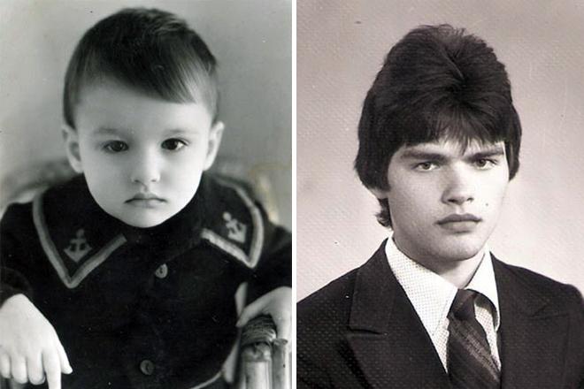 Евгений Дятлов в детстве и юности
