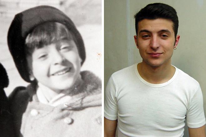 Владимир Зеленский в детстве и юности