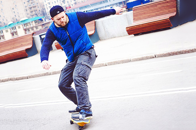 Денис Шведов с детства увлекается спортом