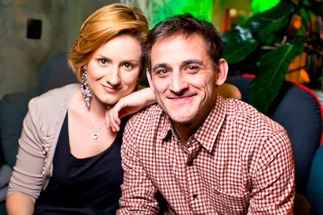 Михаил Башкатов с женой