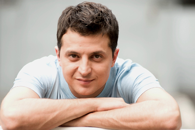 Актер и шоумен Владимир Зеленский
