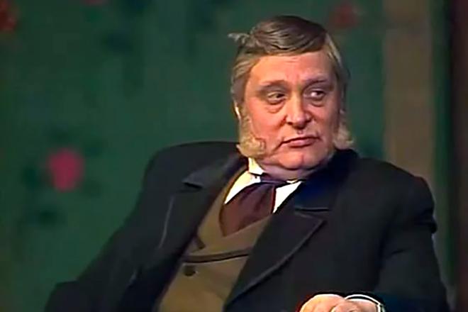 Олег Басилашвили на сцене