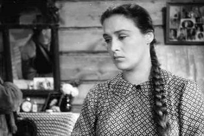 """Нонна Мордюкова в фильме """"Молодая гвардия"""""""