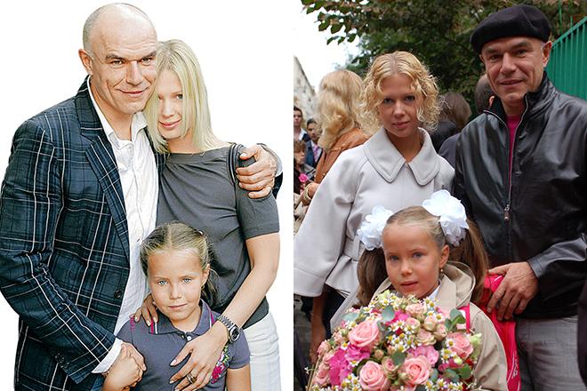 Сергей Мазаев с семьей