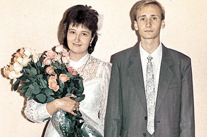 Татьяна Устинова с мужем