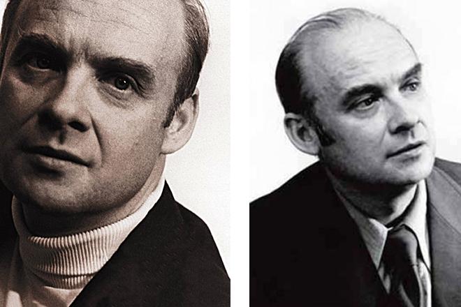 Николай Добронравов в молодости