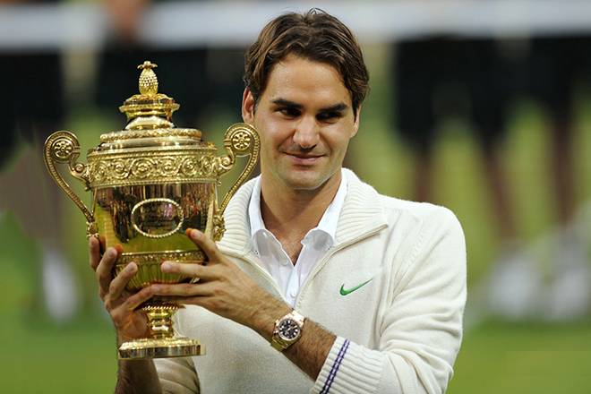 Первая ракетка мира Роджер Федерер