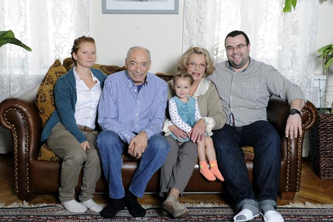 Семья Ольги Остроумовой