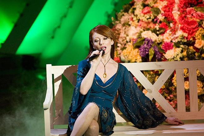 Ольга Зарубина на сцене