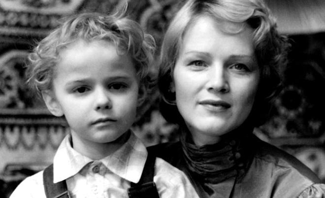 Наталья Егорова с сыном Александром
