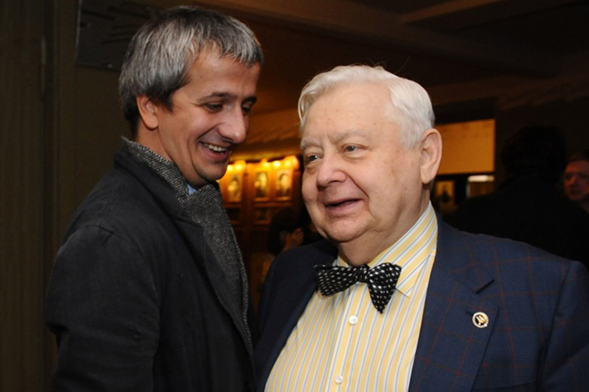 Константин Богомолов и Олег Табаков