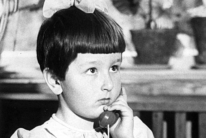 Татьяна Устинова в детстве