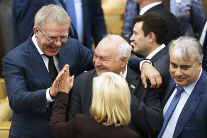 Вячеслав Фетисов в Госдуме РФ