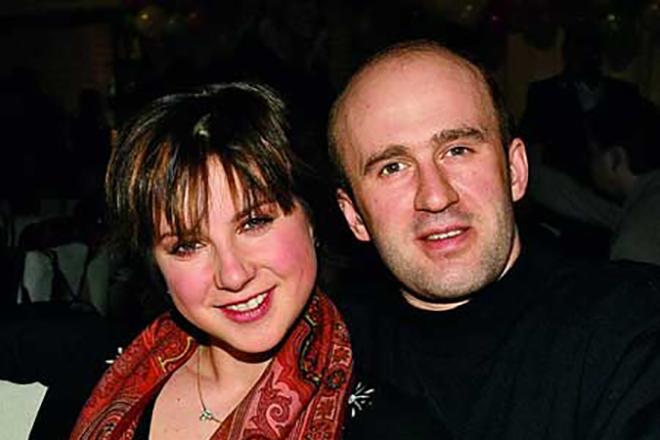Ирина Слуцкая с мужем