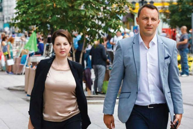 Ирина Слуцкая и Алексей Тихомиров