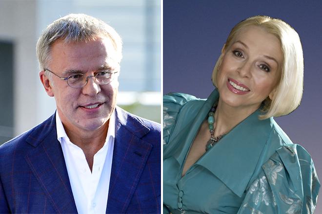 Вячеслав Фетисов и Любовь Исаева