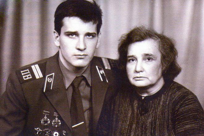 Ярослав Бойко с мамой