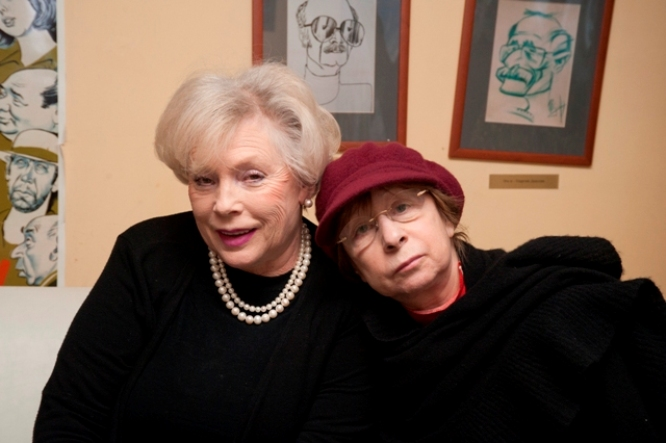 Алла Будницкая и Лия Ахеджакова
